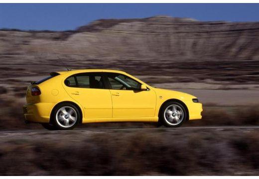 SEAT Leon I hatchback żółty tylny prawy