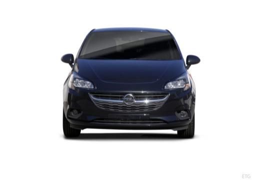 OPEL Corsa hatchback czarny przedni