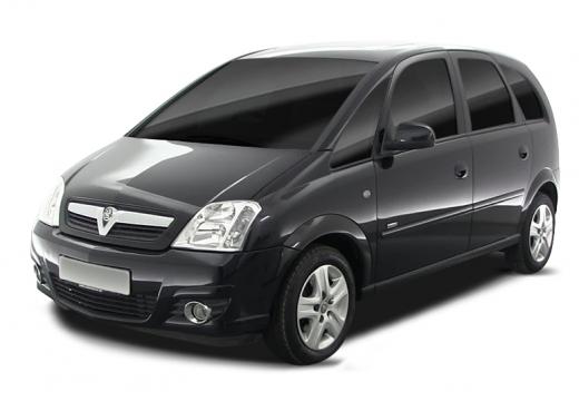 OPEL Meriva II hatchback czarny
