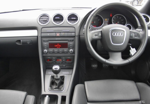 AUDI A4 Cabriolet 8H II kabriolet tablica rozdzielcza