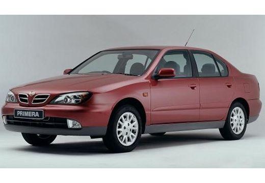 NISSAN Primera III sedan bordeaux (czerwony ciemny) przedni lewy