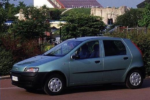 FIAT Punto II I hatchback zielony jasny przedni lewy