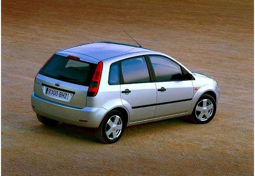 FORD Fiesta V hatchback silver grey tylny prawy