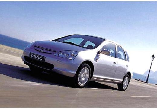 HONDA Civic IV hatchback silver grey przedni lewy