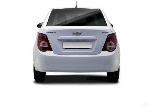 CHEVROLET Aveo III sedan biały tylny