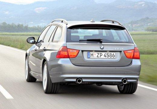 BMW Seria 3 Touring E91 II kombi szary ciemny boczny lewy