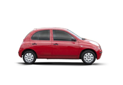 NISSAN Micra V hatchback boczny prawy