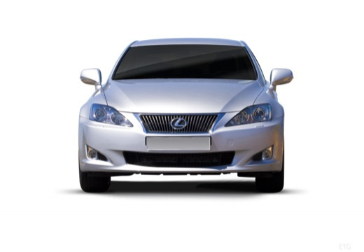 LEXUS IS III sedan silver grey przedni