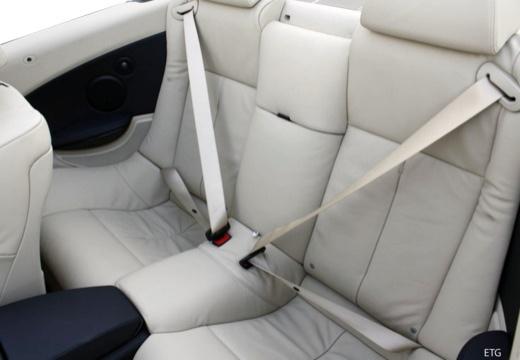 BMW Seria 6 Cabriolet E64 II kabriolet wnętrze