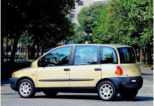 FIAT Multipla kombi żółty tylny lewy
