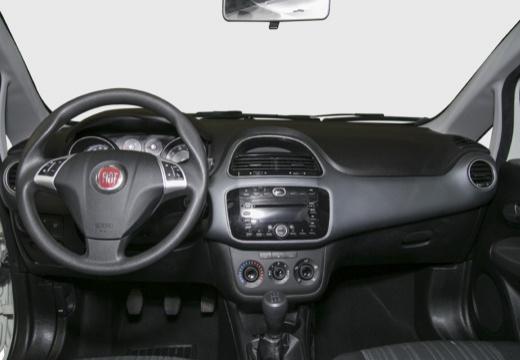 FIAT Punto Evo hatchback biały tablica rozdzielcza
