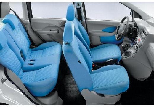 FIAT Panda II hatchback wnętrze