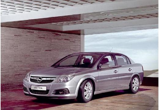 OPEL Vectra C II sedan silver grey przedni lewy