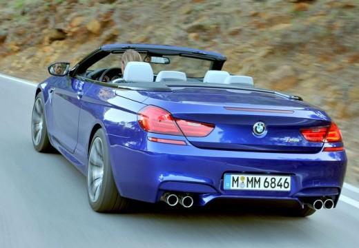 BMW Seria 6 Cabriolet F12 I kabriolet niebieski jasny tylny lewy