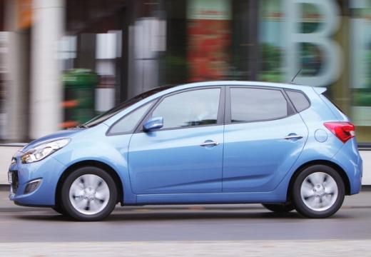 HYUNDAI ix20 I hatchback niebieski jasny boczny lewy