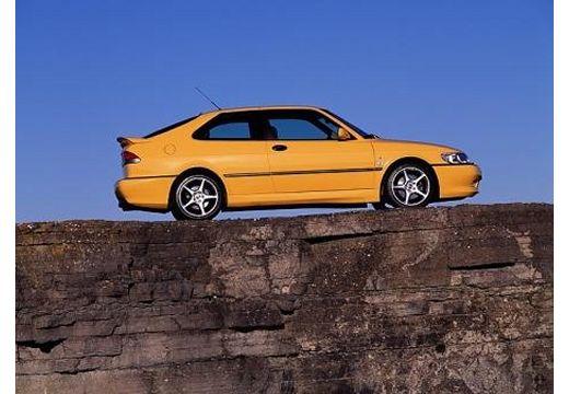 SAAB 9-3 I hatchback żółty boczny prawy