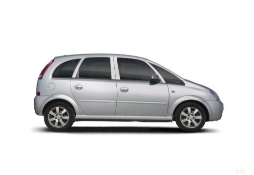 OPEL Meriva II hatchback boczny prawy