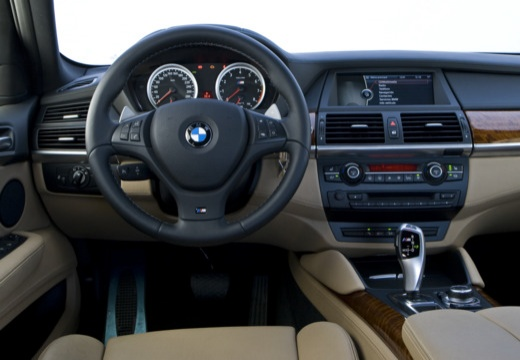 BMW X6 X 6 E71 hatchback tablica rozdzielcza