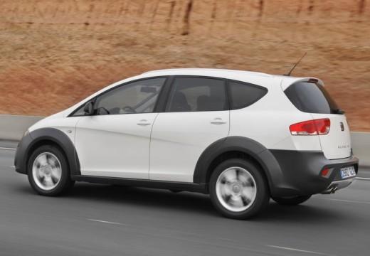 SEAT Altea XL II hatchback biały tylny lewy
