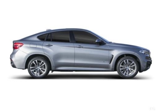 BMW X6 hatchback boczny prawy