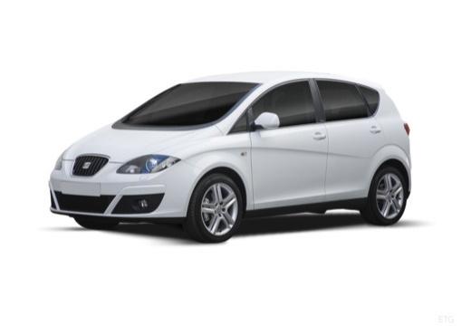 SEAT Altea XL II hatchback biały przedni lewy
