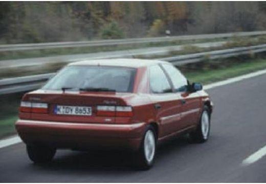 CITROEN Xantia II hatchback bordeaux (czerwony ciemny) tylny prawy