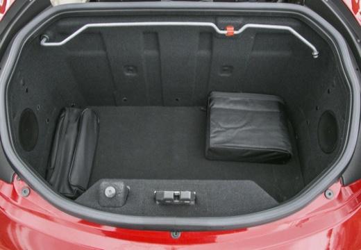 ALFA ROMEO 4C coupe przestrzeń załadunkowa