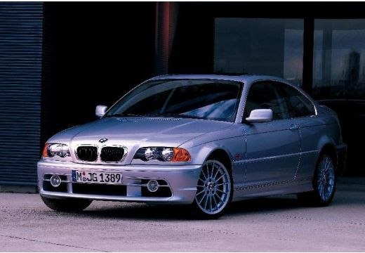 BMW Seria 3 E46 coupe silver grey przedni lewy