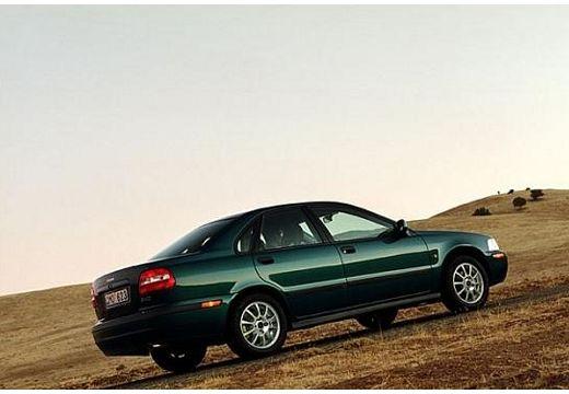 VOLVO S40 III sedan zielony tylny prawy
