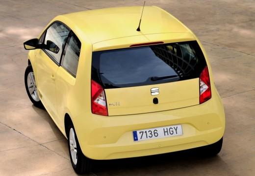 SEAT Mii hatchback żółty tylny lewy