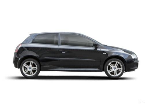 FIAT Stilo II hatchback czarny boczny prawy
