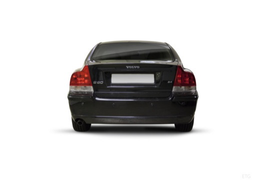 VOLVO S60 II sedan czarny tylny