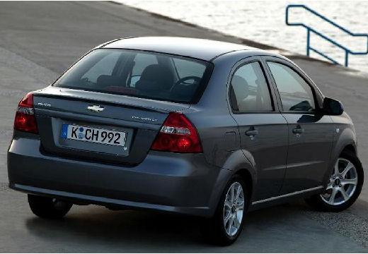 CHEVROLET Aveo II sedan szary ciemny tylny prawy