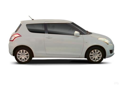 SUZUKI Swift II hatchback boczny prawy