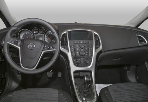 OPEL Astra IV sedan czarny tablica rozdzielcza