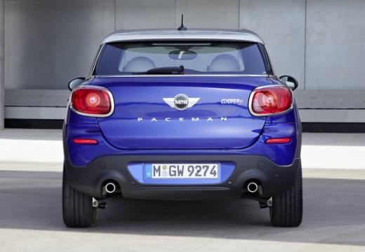 MINI [BMW] Paceman hatchback niebieski jasny tylny