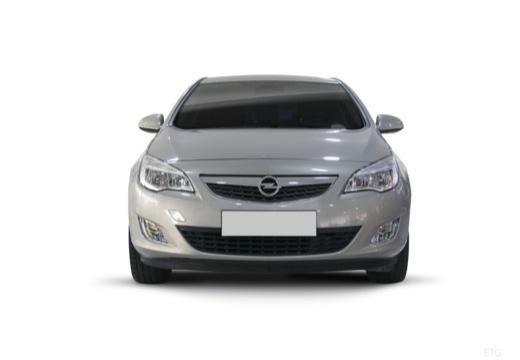 OPEL Astra IV I hatchback silver grey przedni