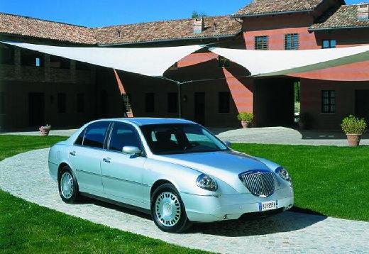 LANCIA Thesis sedan silver grey przedni prawy