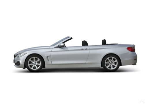 BMW Seria 4 Cabrio F33 kabriolet boczny lewy