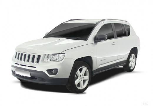 JEEP Compass III kombi silver grey