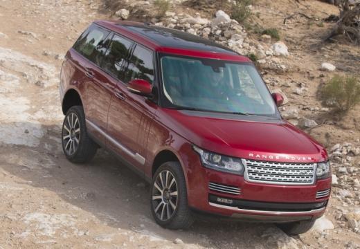 LAND ROVER Range Rover VI kombi czerwony jasny przedni prawy