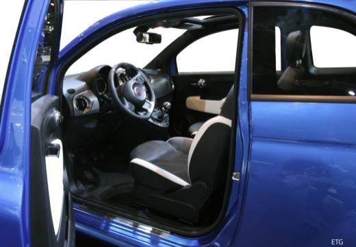 FIAT 500 C II kabriolet wnętrze