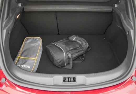 RENAULT Megane III Coupe III hatchback czerwony jasny przestrzeń załadunkowa
