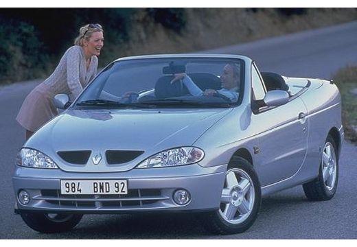 RENAULT Megane Cabrio III kabriolet silver grey przedni lewy