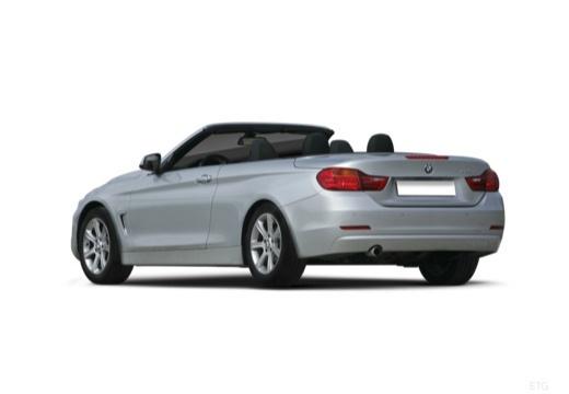 BMW Seria 4 Cabrio F33 kabriolet tylny lewy