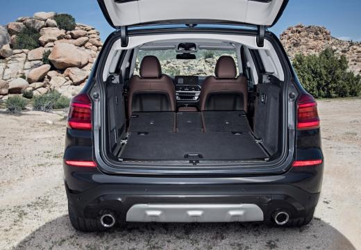 BMW X3 kombi przestrzeń załadunkowa