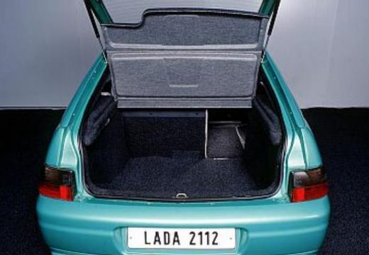LADA 112 hatchback zielony przestrzeń załadunkowa