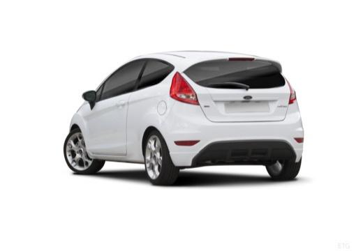 FORD Fiesta VII hatchback biały tylny lewy