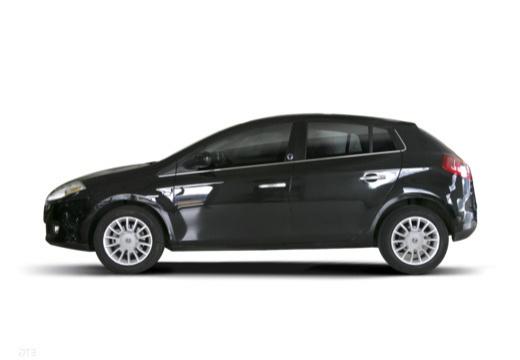 FIAT Bravo II hatchback czarny boczny lewy