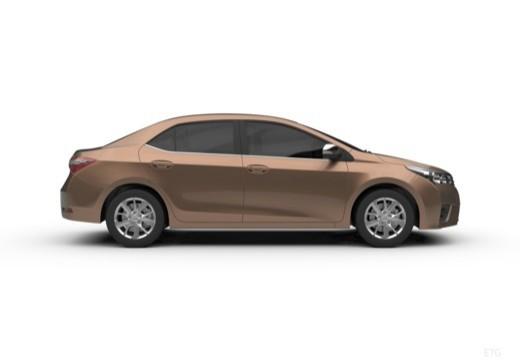 Toyota Corolla III sedan boczny prawy